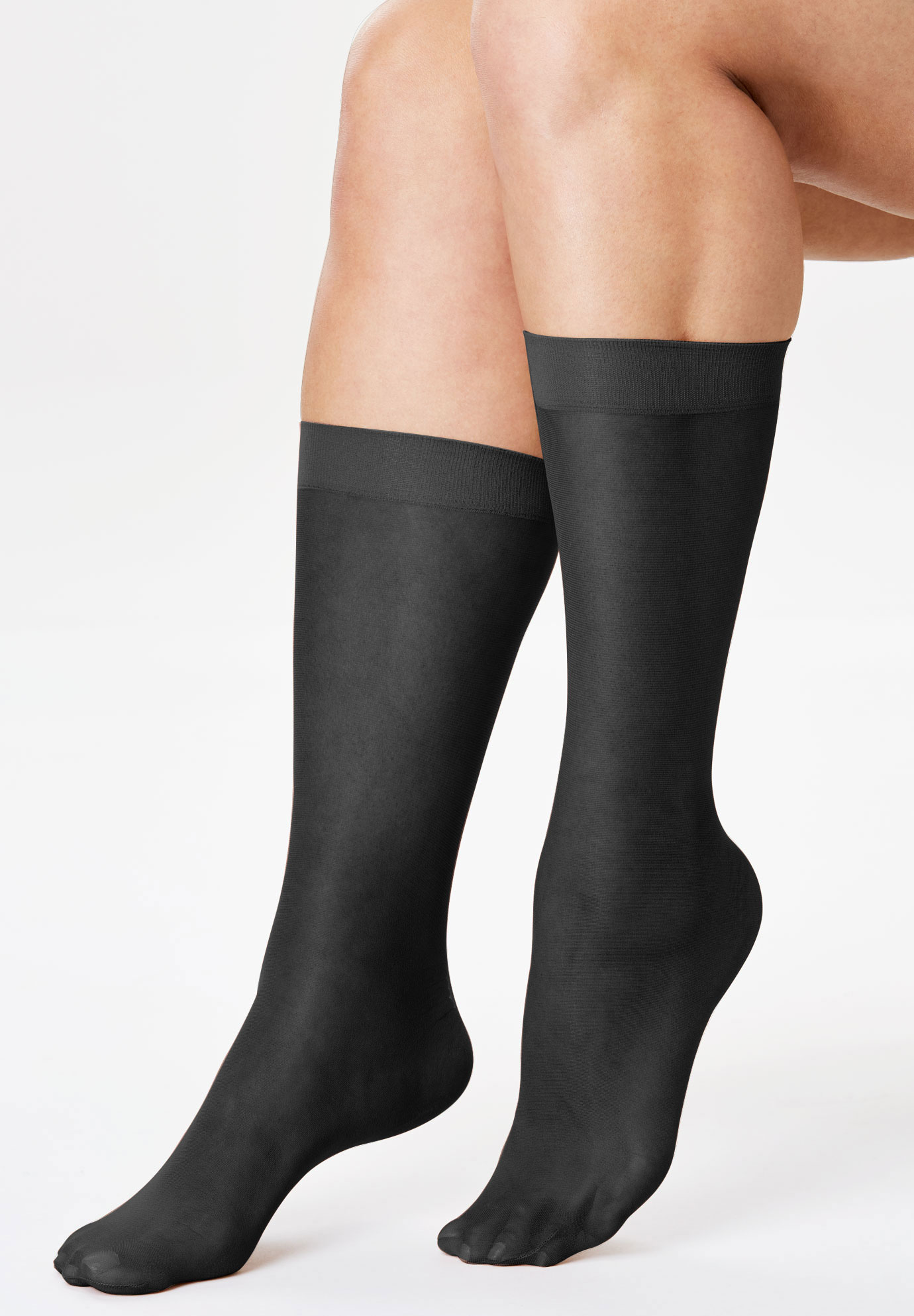 3-Pack Knee-High Compression Socks by Comfort Choice®,