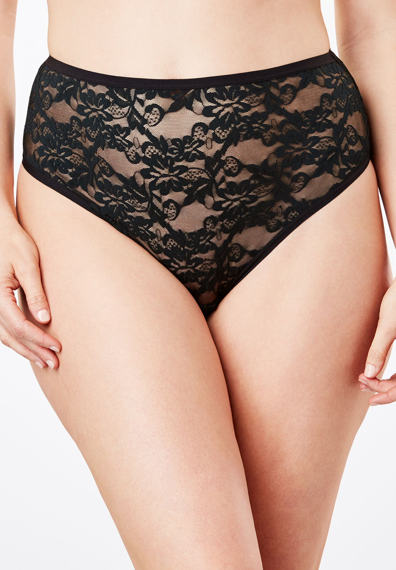 70038ddc76 High-Cut Lace Panty by Comfort Choice®