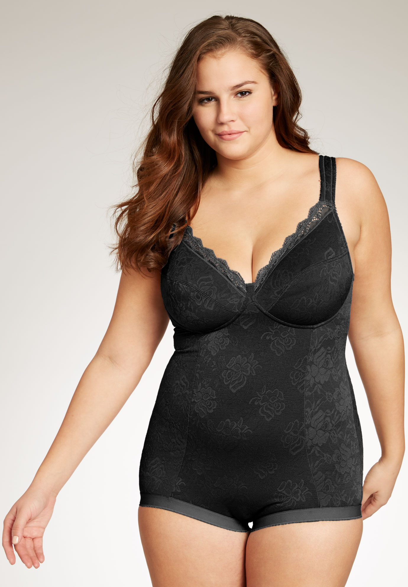 cd3c77ccd06b4 Lace Body Briefer by Secret Solutions® Curvewear