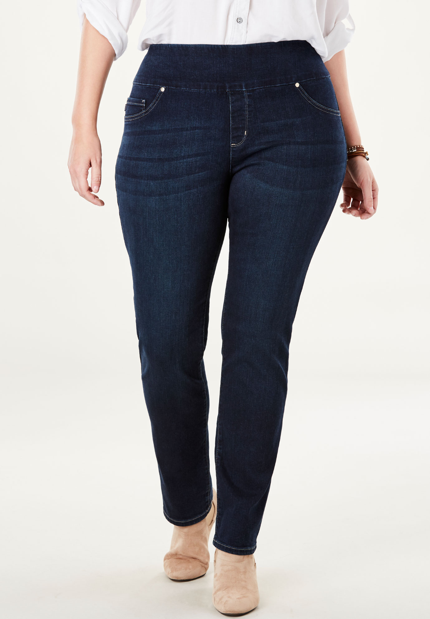 Sculpting Pull-On Jean by Lee®,