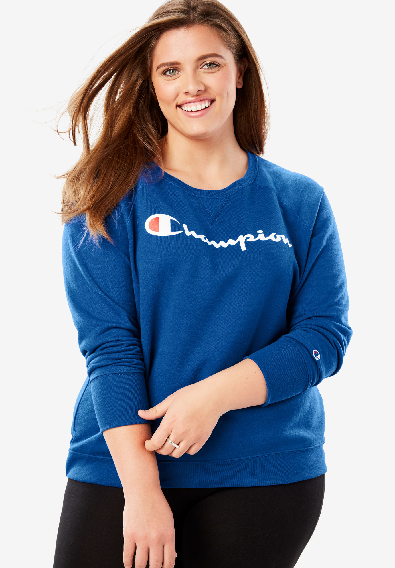 Logo Crewneck Sweatshirt by Champion®,