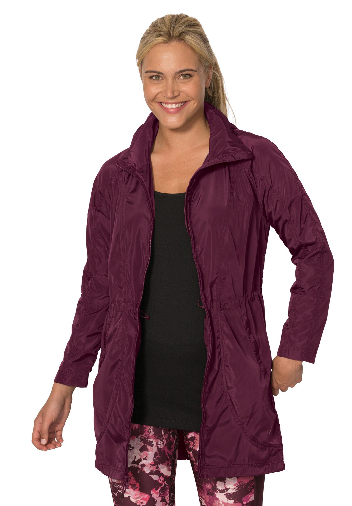534f0c627db Hooded anorak by fullbeauty SPORT®| Plus Size Active & Swimwear ...