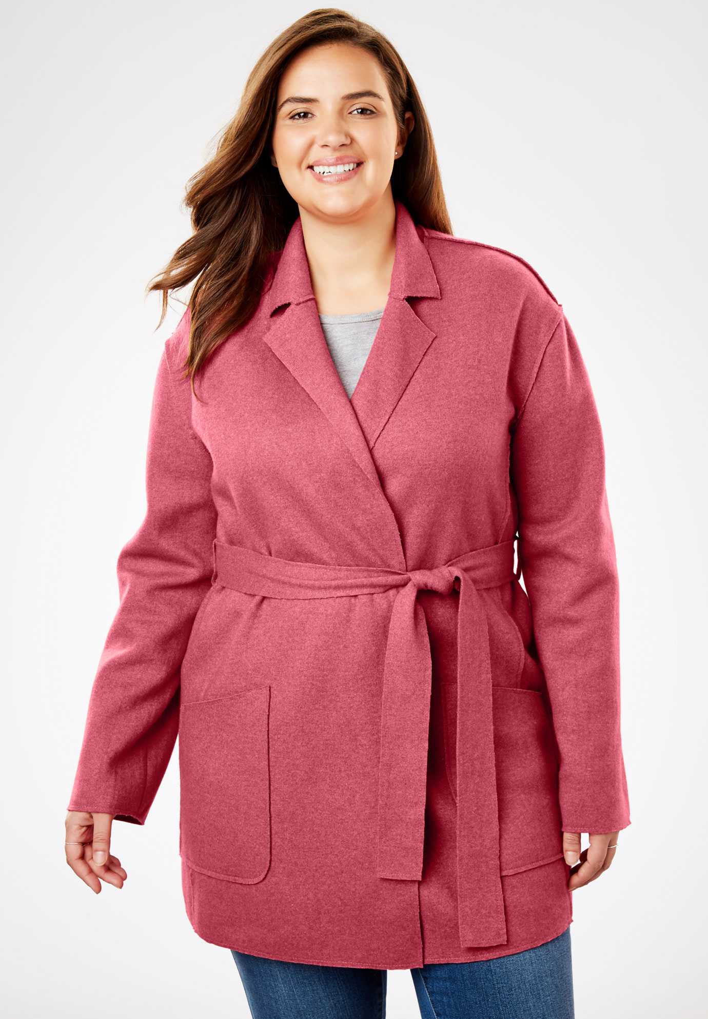 Lightweight Wool Shawl Coat,