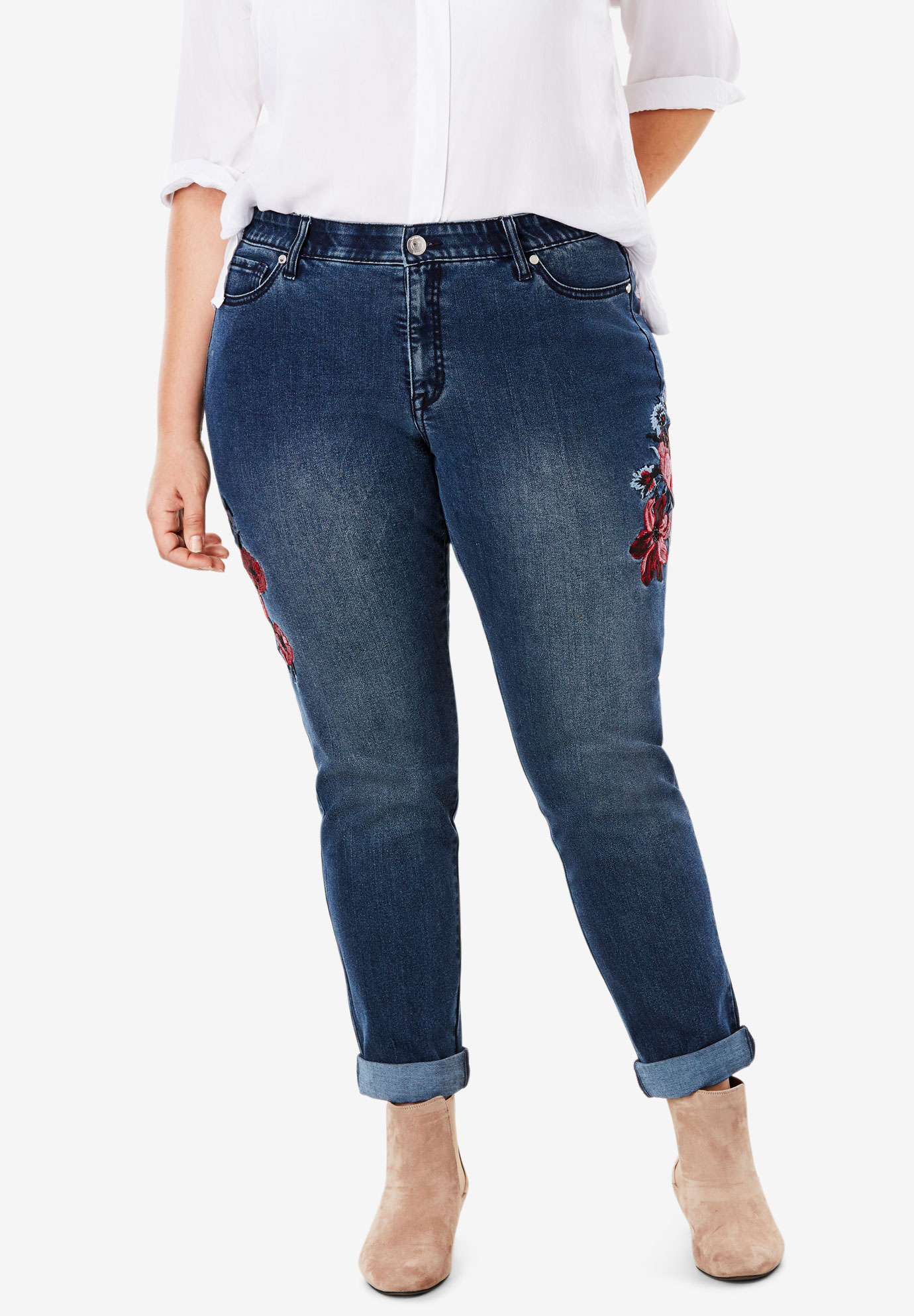 No Gap Girlfriend Jean,