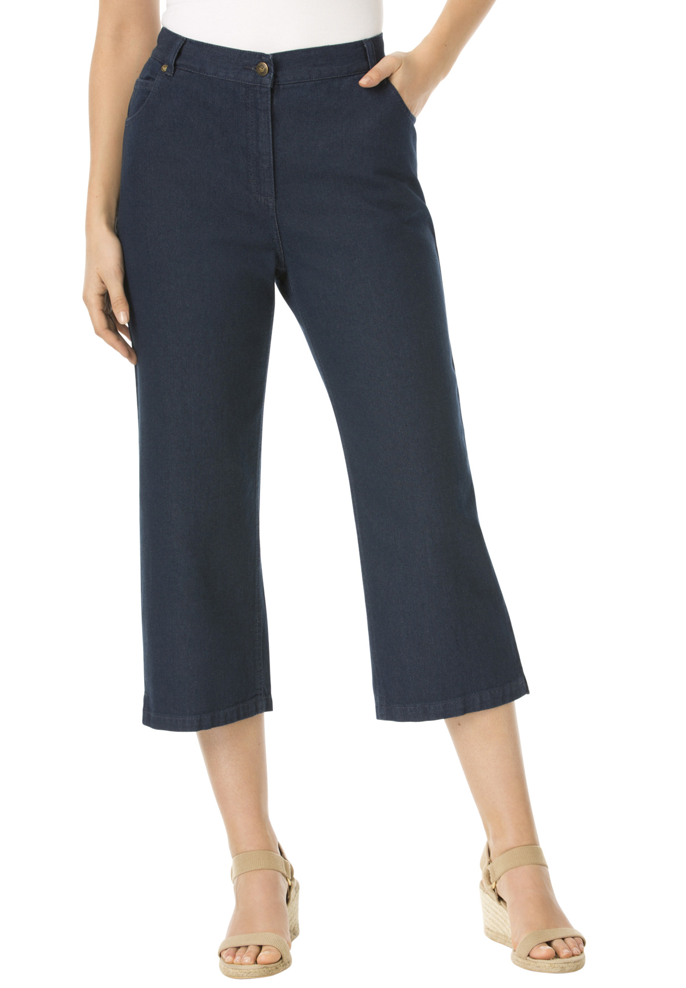 Cotton Capri Jean,