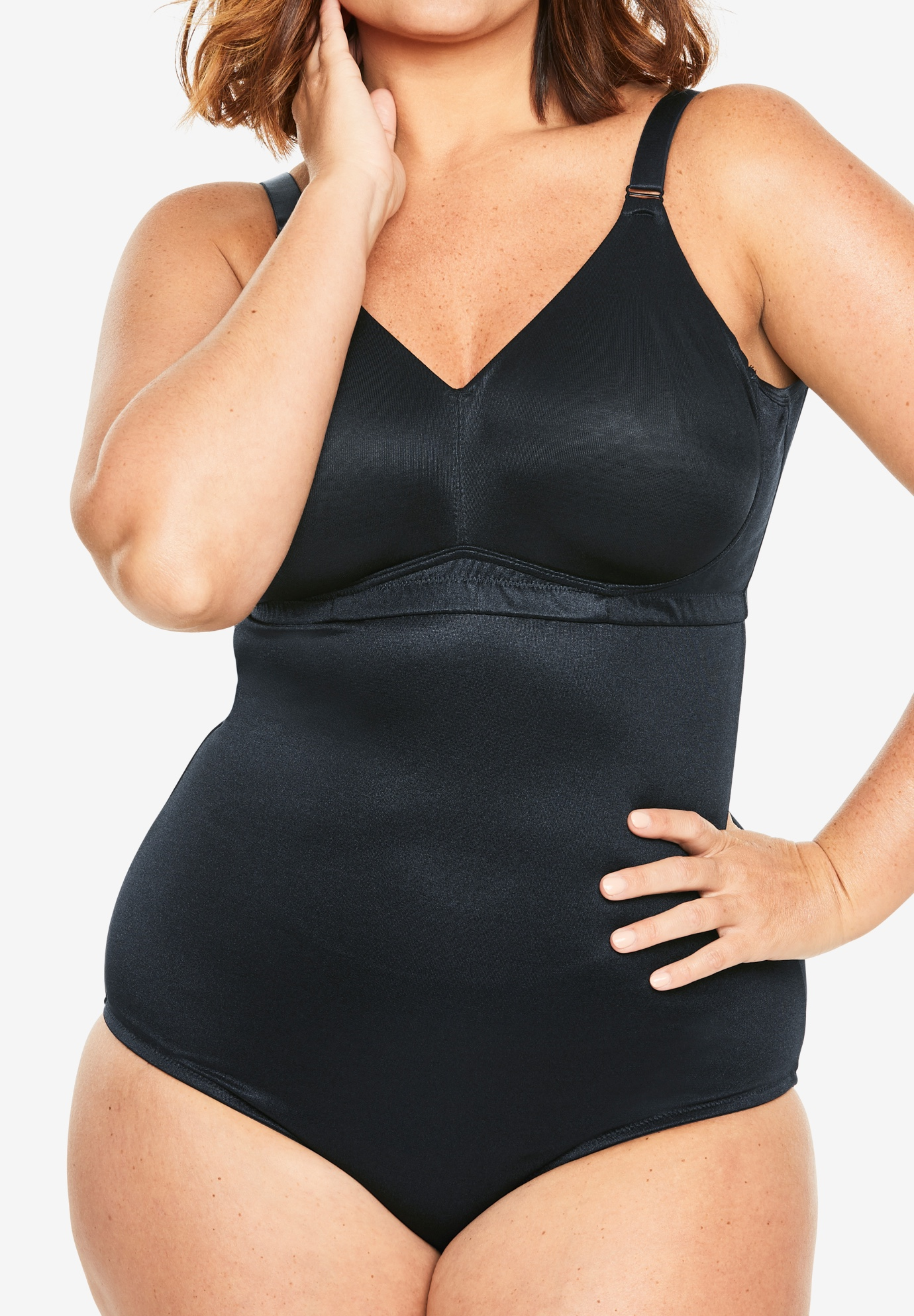 Back-Smoothing Body Briefer by Secret Solutions®,