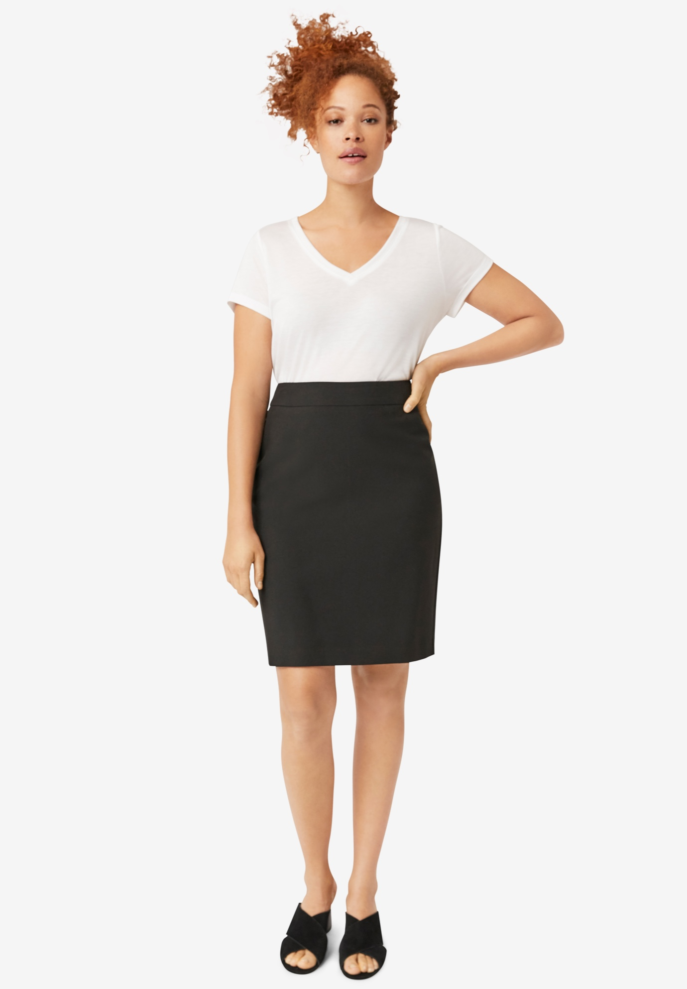 Pencil Skirt by ellos®,