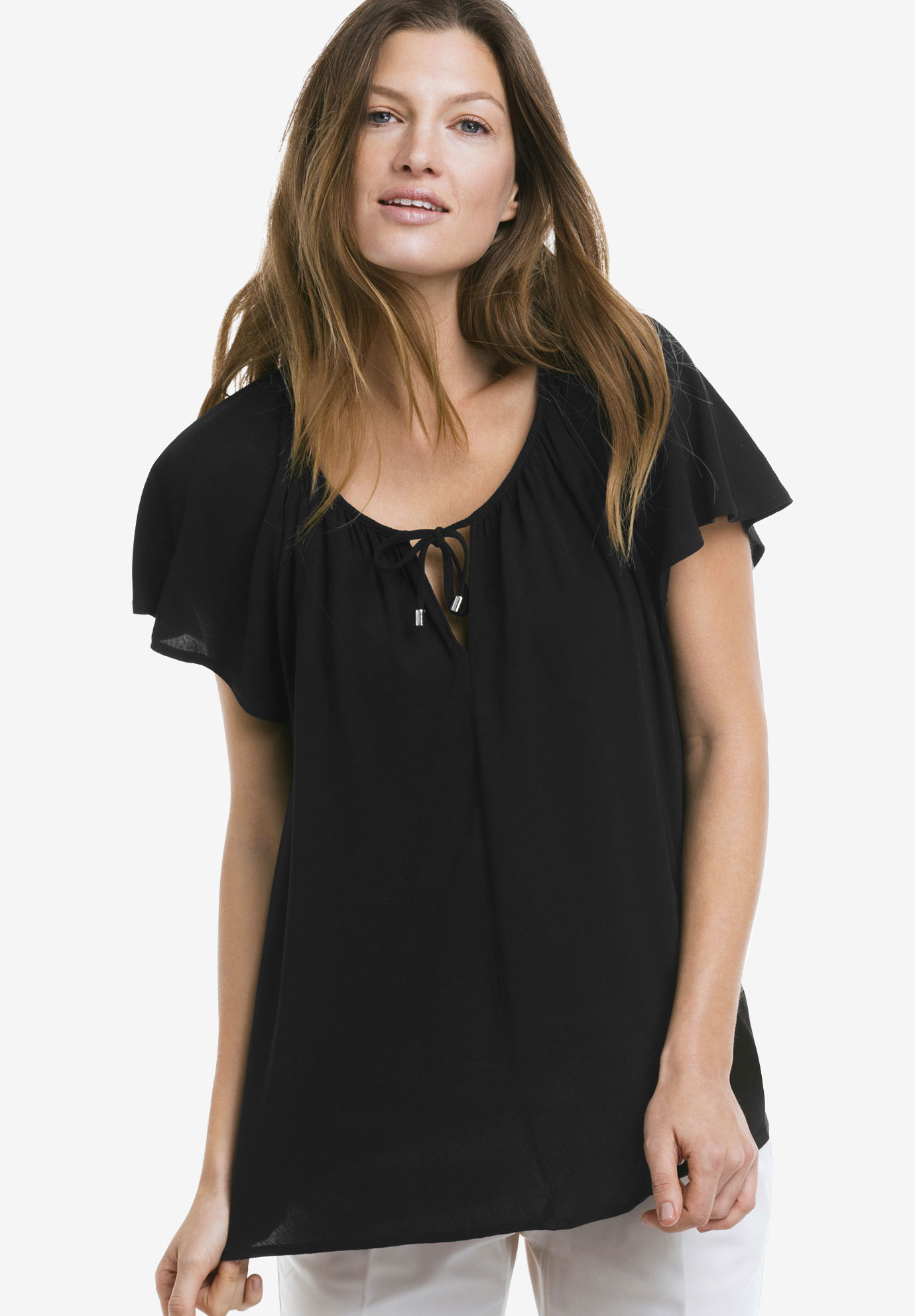Flutter Sleeve Tunic by ellos®,
