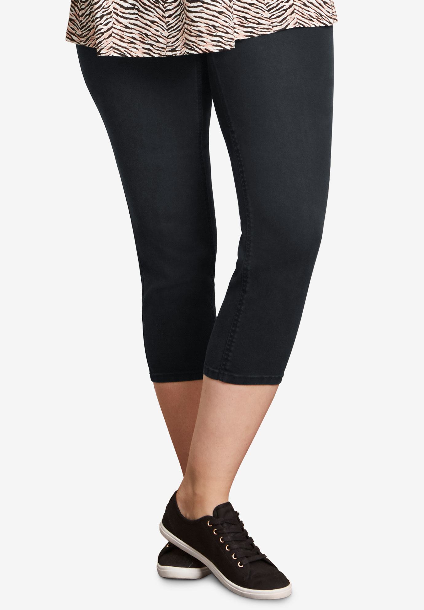 4-Pocket Capri Jegging by ellos®,
