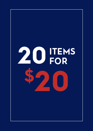 Kingsize 20 items at $20
