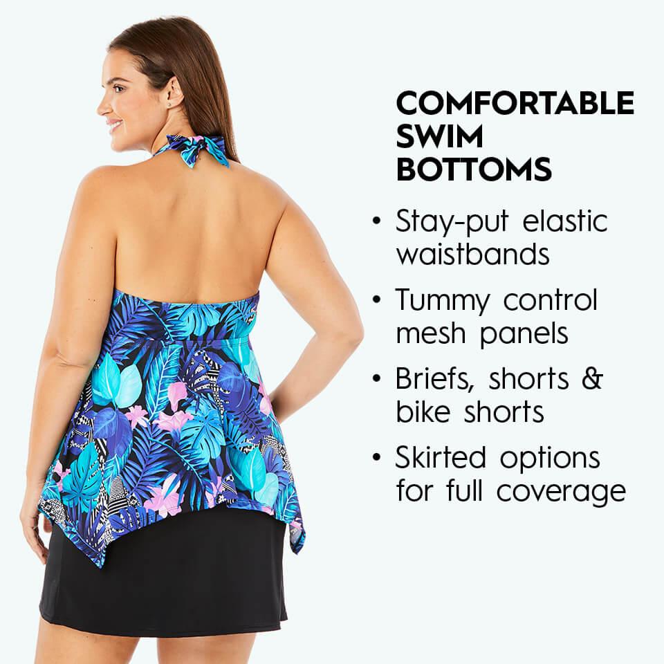 comfortable swim bottoms