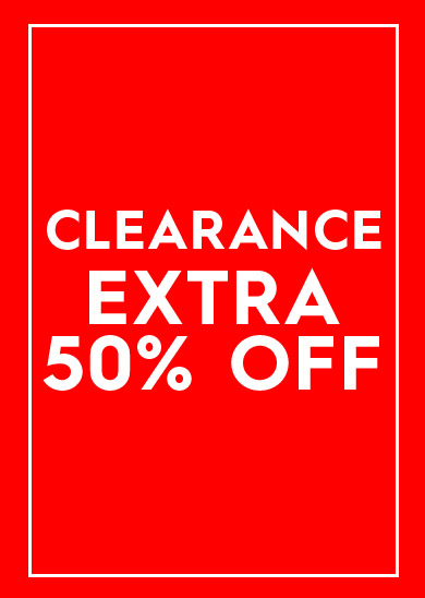 clearance extra 50% off select styles